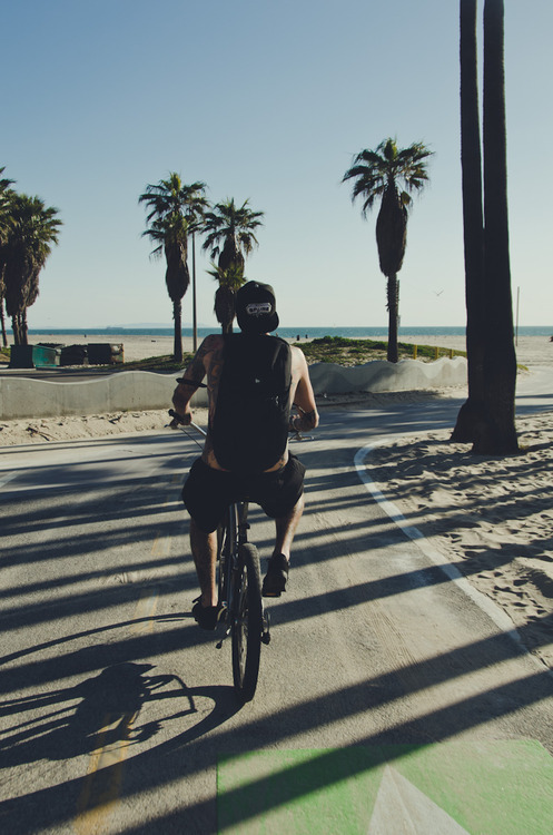 beach, bike, boy, california, cute, hot, sexy, summer