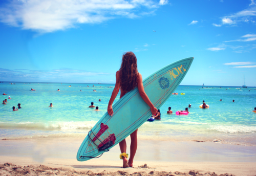 beach, bikini, body, girl, hair, summer, surf, surfer