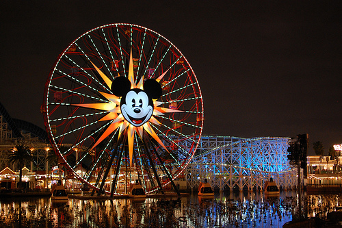 beautiful, lights, mikey mouse, photography