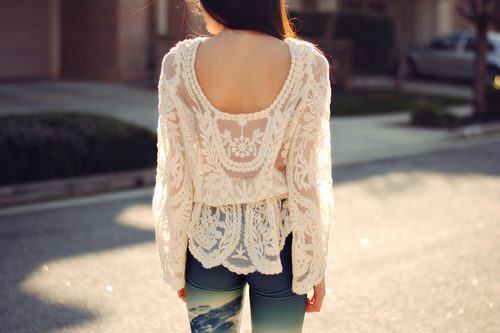 blus, fashion, girl and style