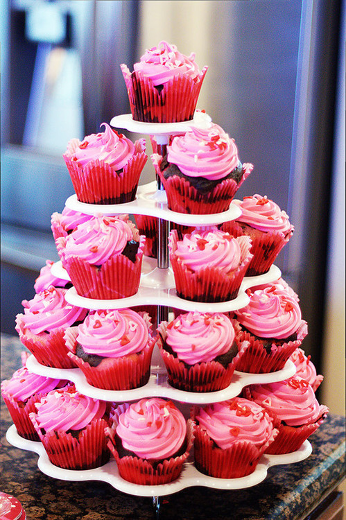 chocolate, cookie, cream, cupcake, cupcakes, cute, nice, pink, pretty, red, yummy
