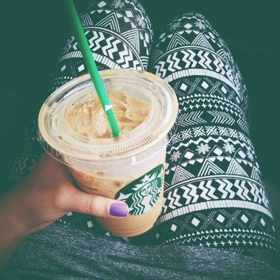 coffee, leggings, photography, starbucks