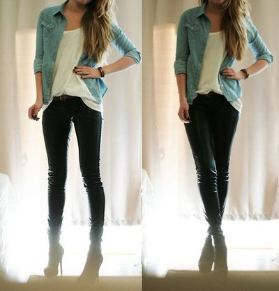 colour, cool, fashion, girl, outfit, style