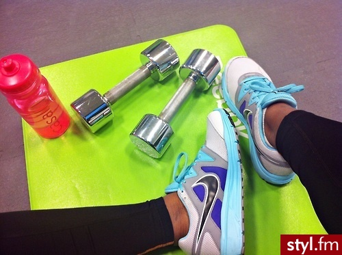 colours, dumbells, exercise, fit