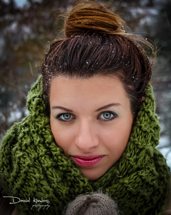 art, beautiful, brown, creative, fine-art, girl, hot, portrait, snow, style