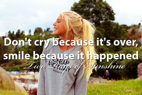 Cry, Over, Smile, Smiling, Girl
