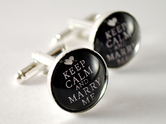 accessories, cufflinks, groom, keep calm, wedding