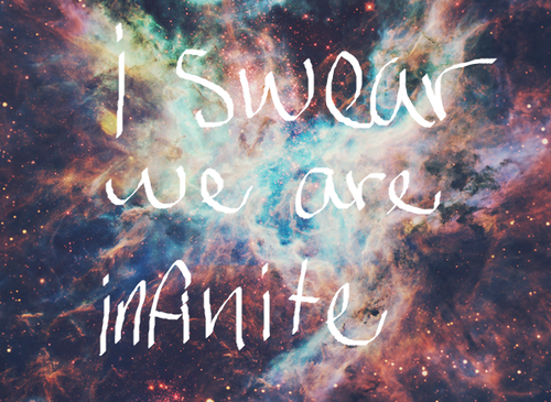 Infinity Love Galaxy Tumblr