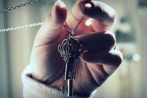 cute, girl, jewelry, key