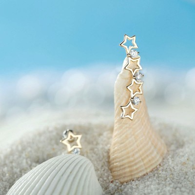 chic, cool, ear pin earrings and ear pins