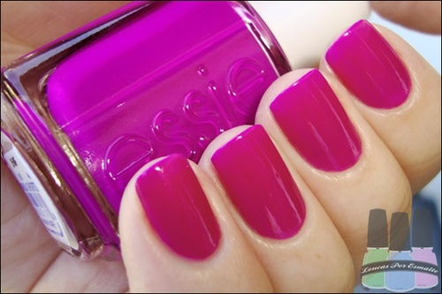 esmalte essie, fashion, fashion nails, glamour, nail polish, nails, pink, unhas