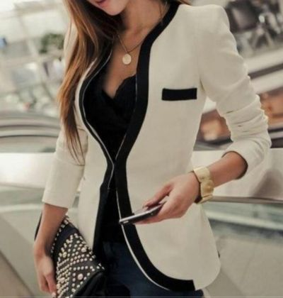 fashion, fashionista, glam, jacket, style, white