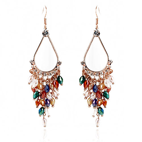 fashion jewelry earring bohemian style image 779595