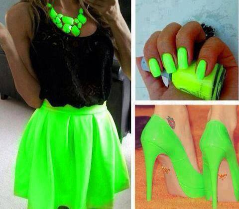 Bright neon clothes online