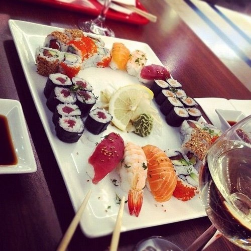 Sushi essen wedding