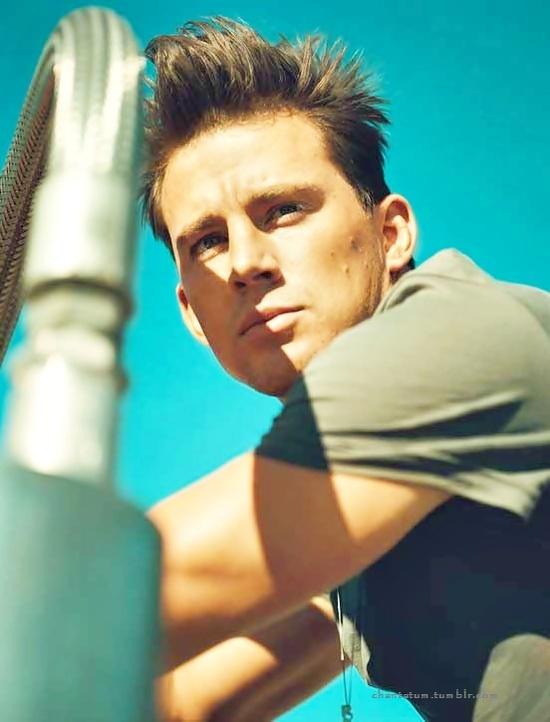 beautiful, black, boy, brown, brown hair, channing, channing tatum, cute, details, dirty, hair, hot, love, magazine, tatum, white