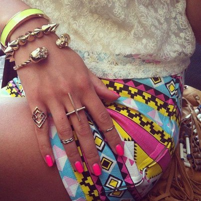 beauty, bracelet, cross, cute, fashion, girl, hot, nails, pink, pretty, rings, sexy, skull, style, sweet