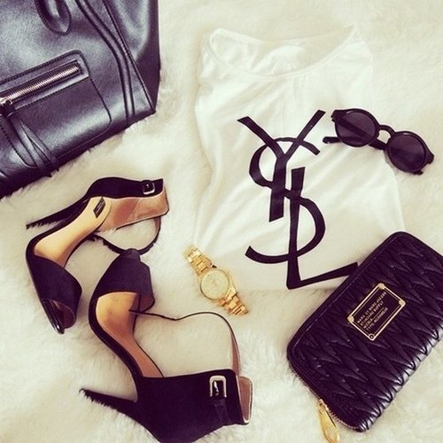 Dress Chanel Shoes Ysl