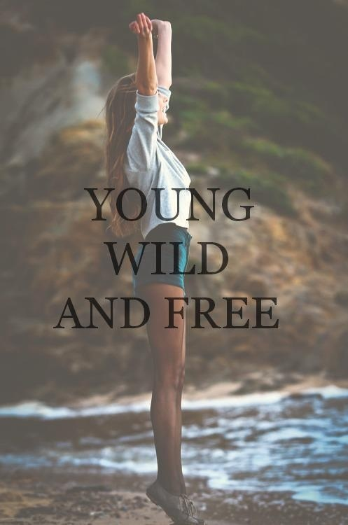 free, lyrics, text, typography, wild, wiz khalifa, young, young and wild and free
