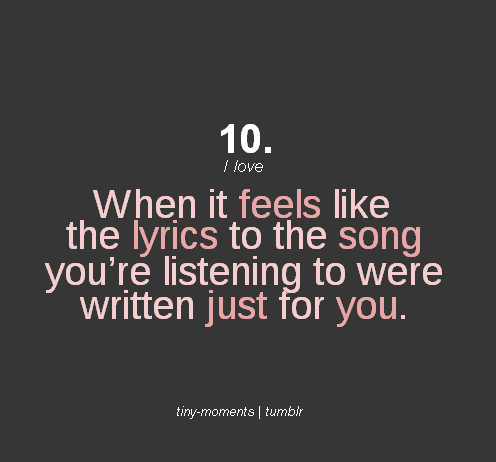 Lyrics, Music, Quotes, Songs