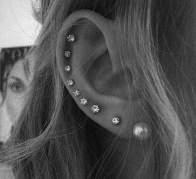 awesome, diamonds, ears, i, piercings, this, want