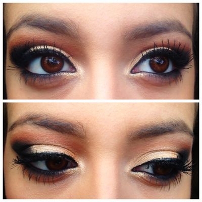 how to make green eyes brighter naturally