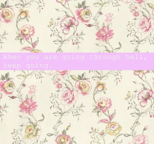 quotes life floral background hell image on com