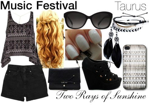 astrology, bag, black, blonde, clothes, curly hair, fashion, feathers, girl, grey, hair, hot, music festival, nails, phone, phone case, polyvore, preference, preferences, shorts, string bracelet, summer, sunglasses, taurus, tumblr fashion, tumblr girl